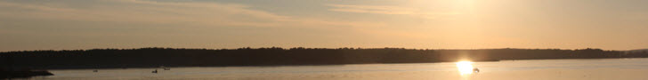 Lake O the Pines Sunset over the Lake