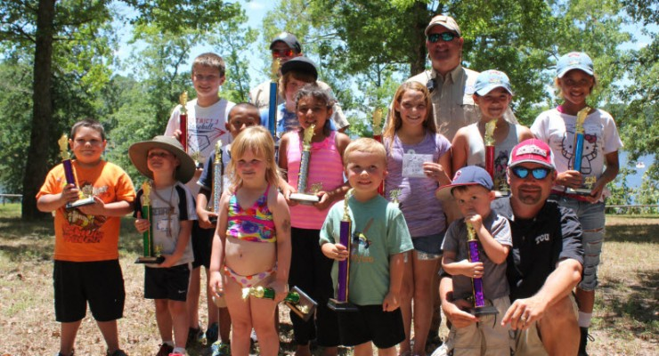 Kid Fish Day, Lake o the pines, chamber of commerce
