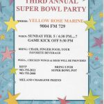 Third Annual Super Bowl Party