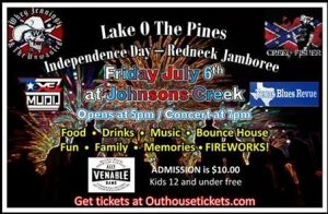 Lake O The Pines Independence Day - Redneck Jamboree 2018